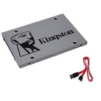 "SSD interne 2.5"" Kingston SSDNow UV400 (TLC) - 120 Go + Cable SATA"