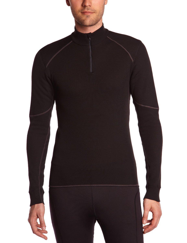 T-shirt manches longues Odlo X-warm 1/2 Zip - Noir, Taille M