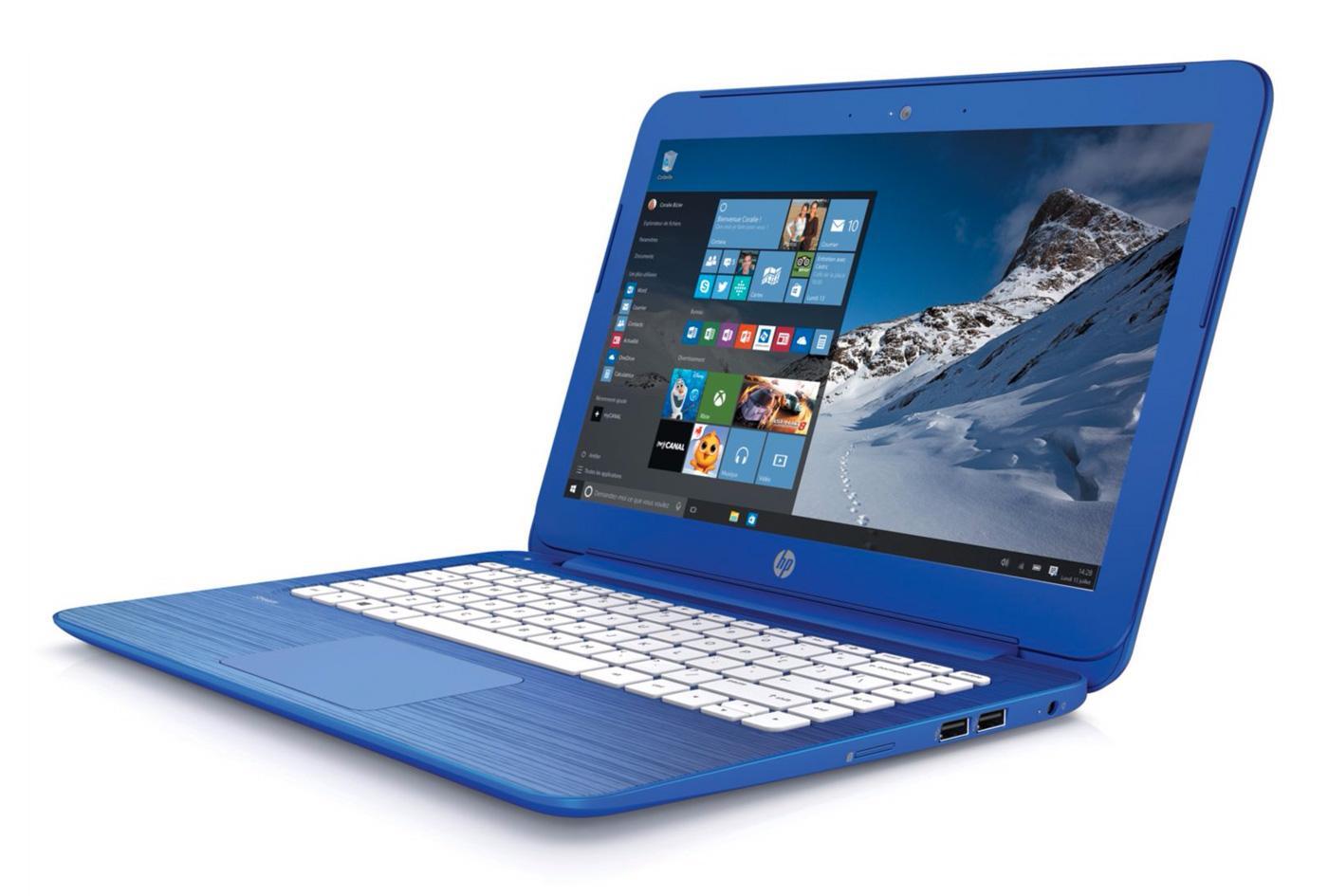 "PC portable 13.3"" HP Stream 13-C104NF - Intel Celeron N3050, 2 Go RAM, eMMC 32 Go, Windows 10"