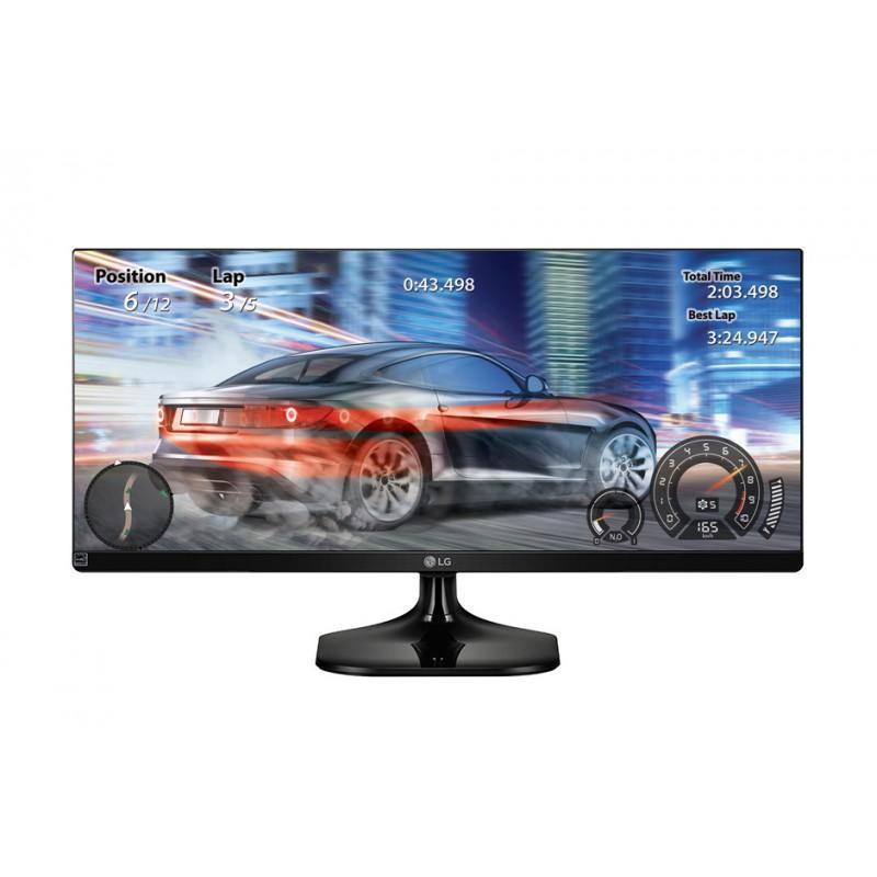 """Ecran PC LED 29"""" LG 29UM58  -  IPS, WQHD, 21/9, 5ms"""