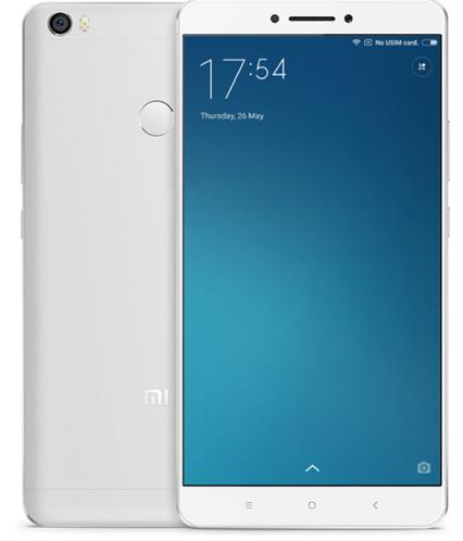 """Smartphone 6.44"""" Xiaomi Mi Max Silver - 32Go, 1080p, 4G LTE, 3 Go de RAM"""