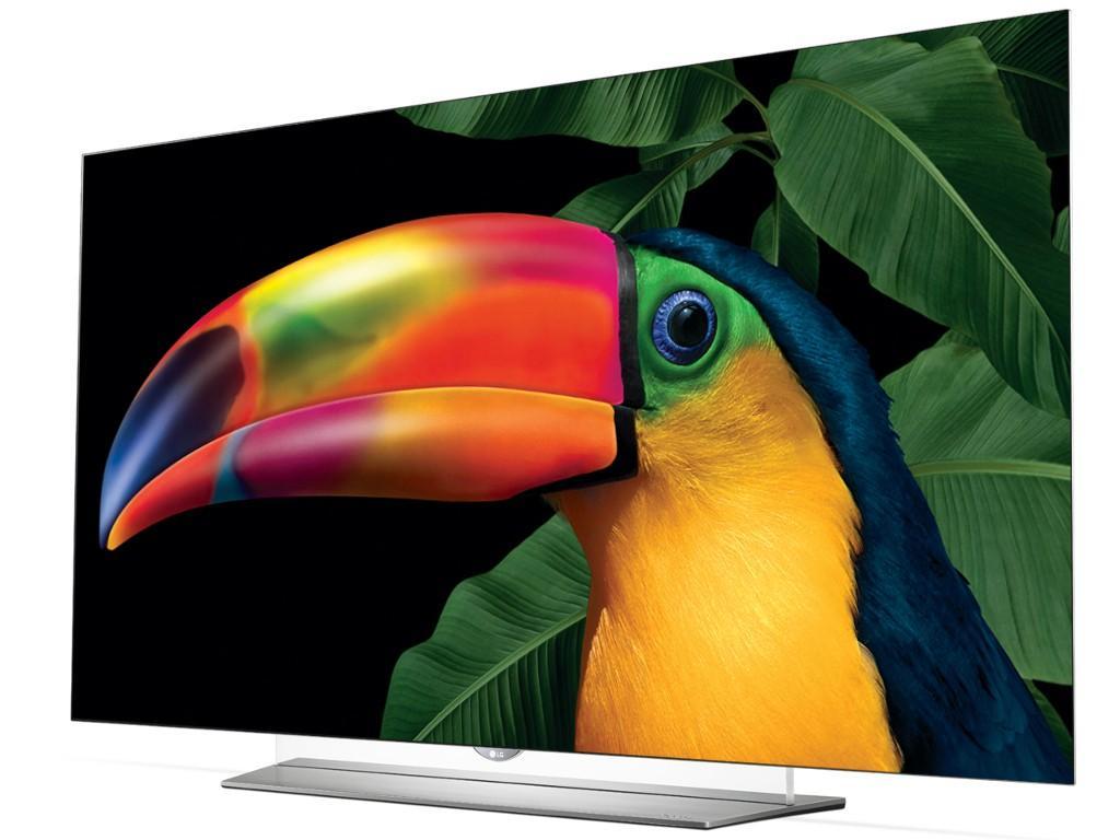 """TV 55"""" LG EF950V - UHD, OLED, avec dalle plate, Dalle 10 bits et HDR"""