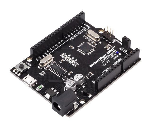 Circuit intégré RobotDyn ATmega168 - micro-USB (compatible Arduino Uno R3)