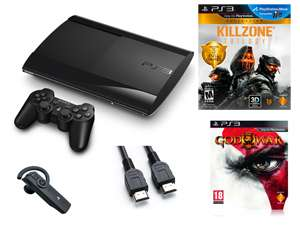 Console PS3 Ultra Slim 12 Go + Killzone Trilogy + God Of War 3 + Câble HDMI / Via Buyster