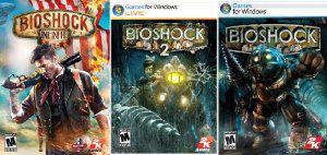 Bioshock Triple Pack : 1, 2 et Infinite sur PC (Dématérialisé - Steam)