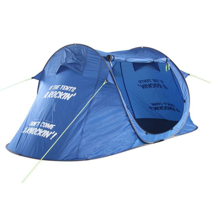Sélection de promotion - Ex : Tente Popup Quickpitch 2 Gelert - Bleue