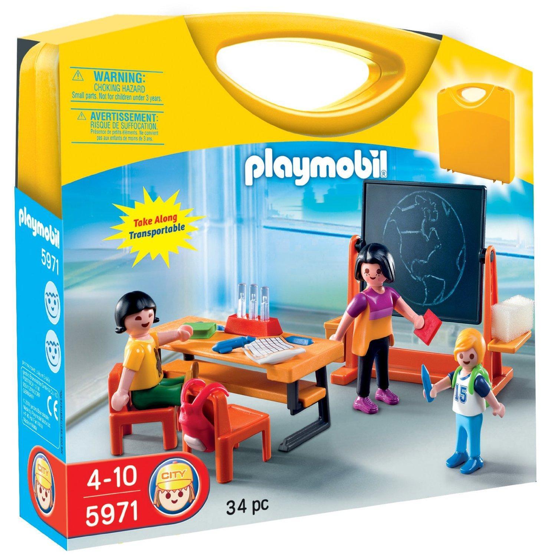 Playmobil Valisette maitresse et élèves
