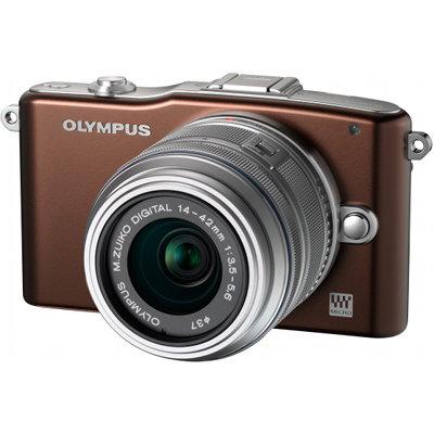 Appareil Photo Hybride Olympus Pen E-PM1 + 2 Objectifs : M.Zuiko 14-42mm et 40-150mm