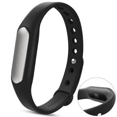 Bracelet connecté Xiaomi MiBand 1S (Capteur cardiaque) - Noir