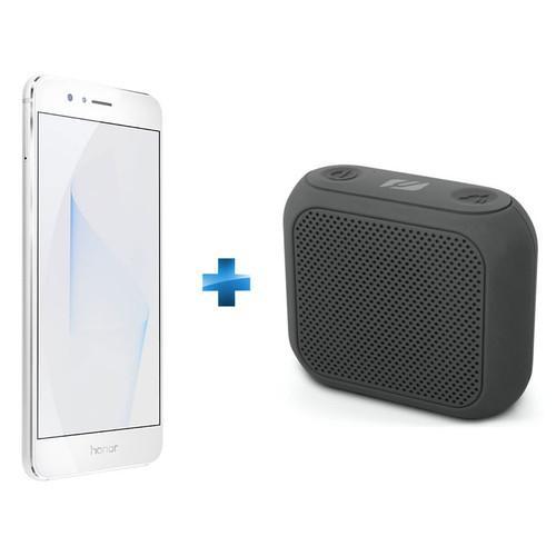 """Smartphone 5.2"""" Honor 8 Dual Sim, 4G, Blanc + Enceinte Muse M-312 BT"""