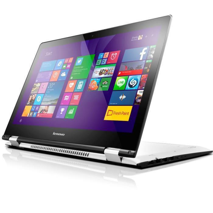 "PC Portable 15.6"" Convertible Lenovo Yoga 500-15ISK - Intel i5-6200U, 8 Go de Ram, 256 Go SSD, GeForce 920M, Clavier QWERTZ"