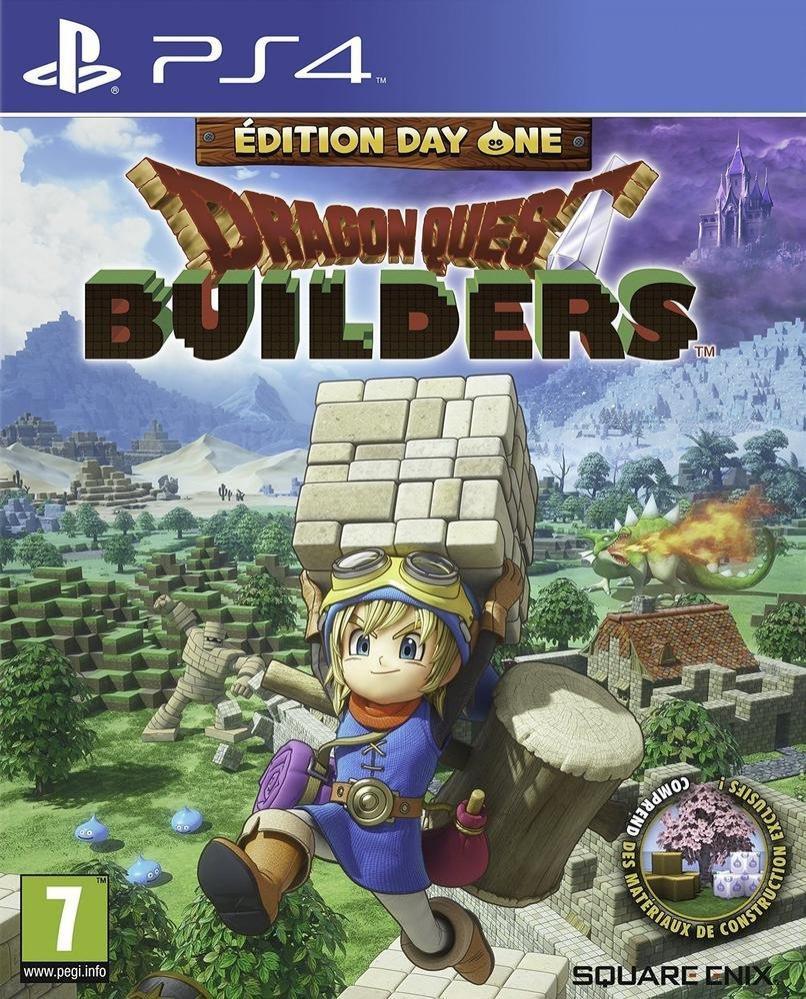 Précommande  : Dragon Quest Builders sur  PS4