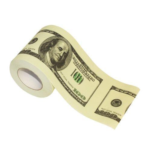 Papier toilette original billet de 100$