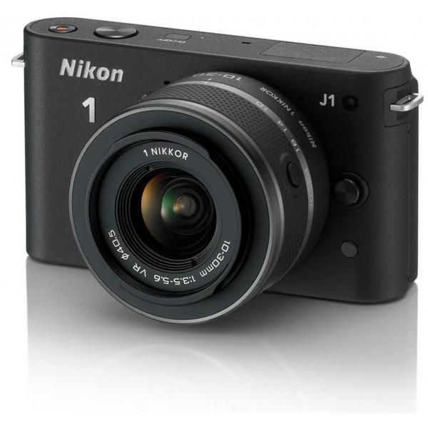 Appareil photo hybride Nikon 1 J1 + Objectif 10-30mm (avec ODR de 50€)