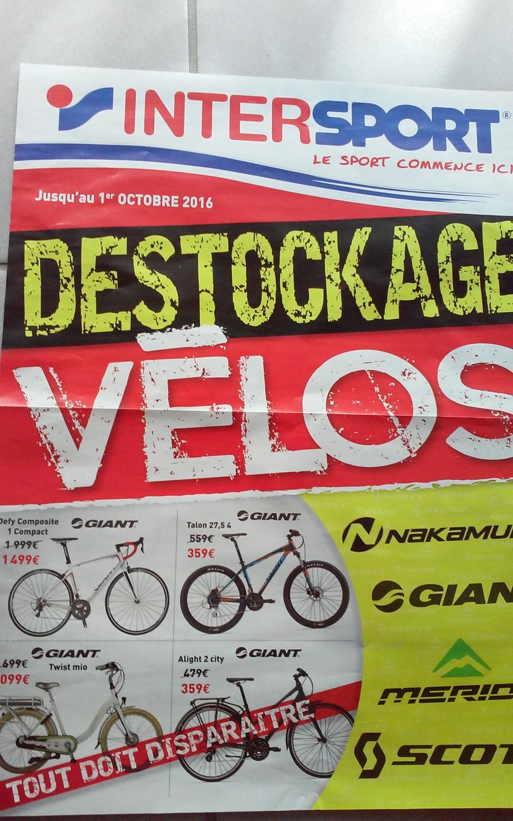 """Sélection de vélos en promo - Ex : VTT 27.5"""" Giant Talon"""