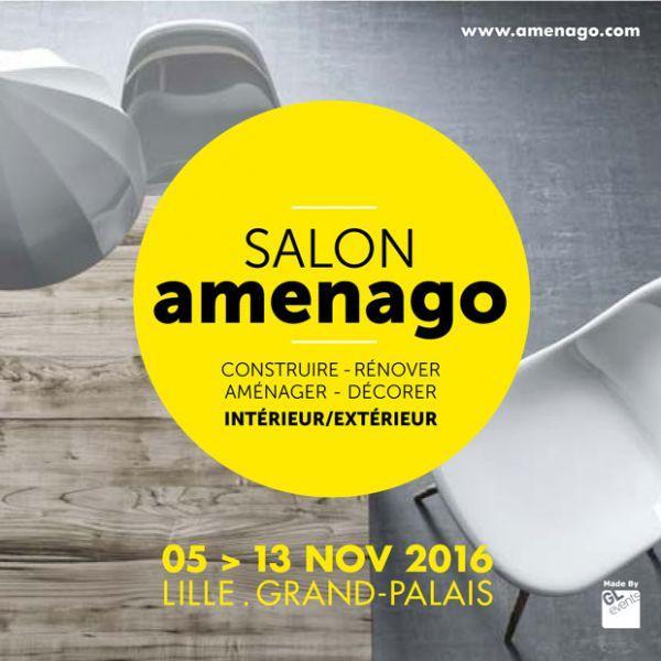 Invitation gratuite au Salon Aménago à Lille (5 au 13 novembre)