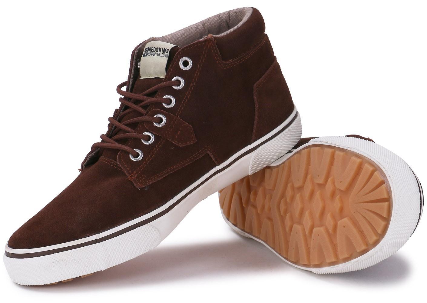 Chaussures Redskins Floris en nubuck marron (Taille 41 à 46)
