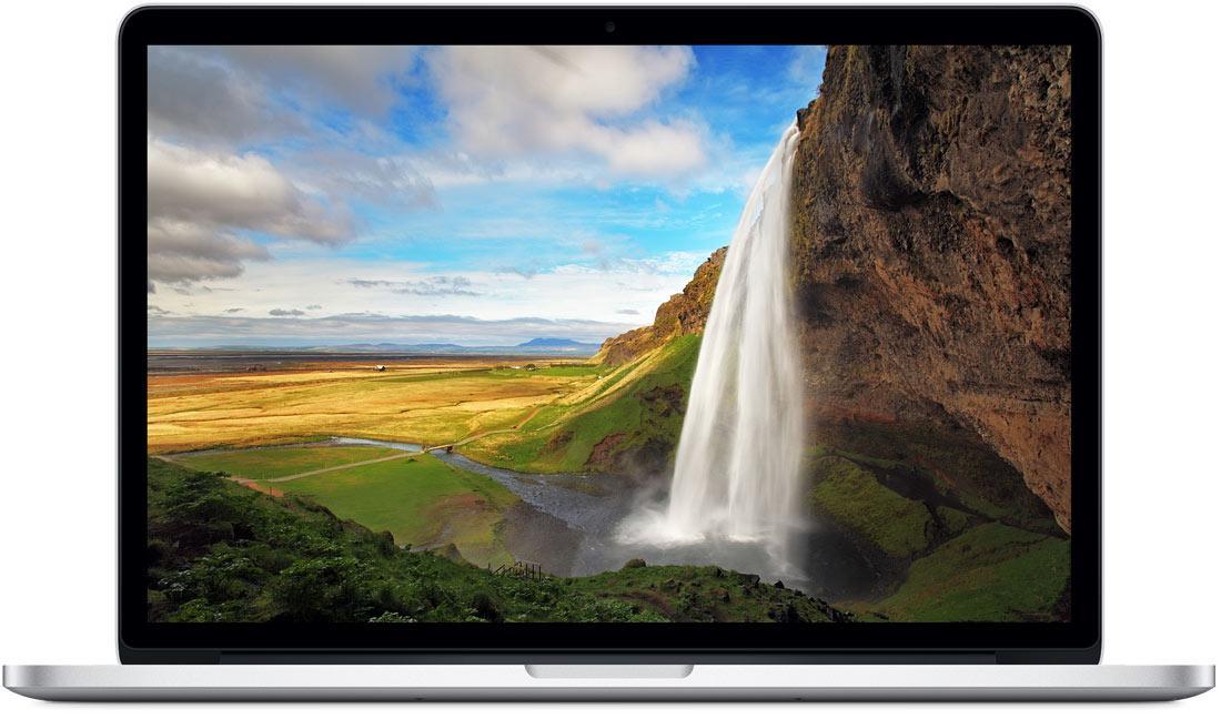 """PC Portable 13"""" MacBook Pro Retina MF839F/A (2015) - Intel i5 2.7GHz, 8 Go de Ram, SSD 128 Go, Iris graphique 6100"""