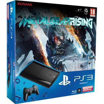 Console PS3 Ultra Slim 500 Go Sony + Metal Gear Rising