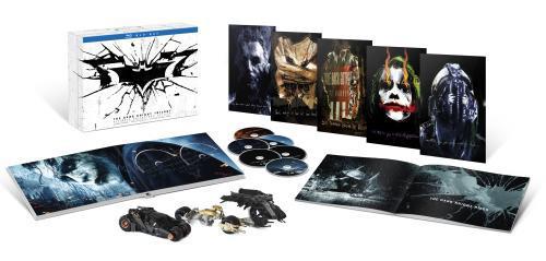 Coffret Blu-ray The Dark Knight - La trilogie (Edition limitée collector)