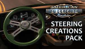 American Truck Simulator : DLC Steering Creation Pack offert (30000 clés Steam)