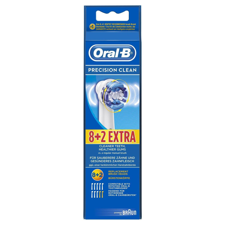 Lot de 10 brossettes Oral-B Precision Clean