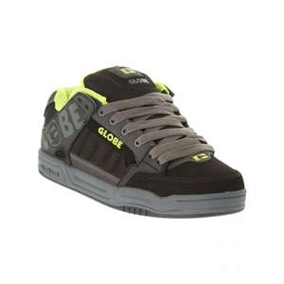 Chaussures Globe Tilt Charcoal Blk Lime