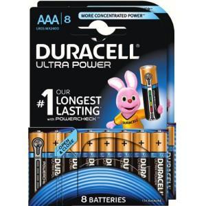 Lot de 16 piles AA ou AAA Duracell Ultra Power