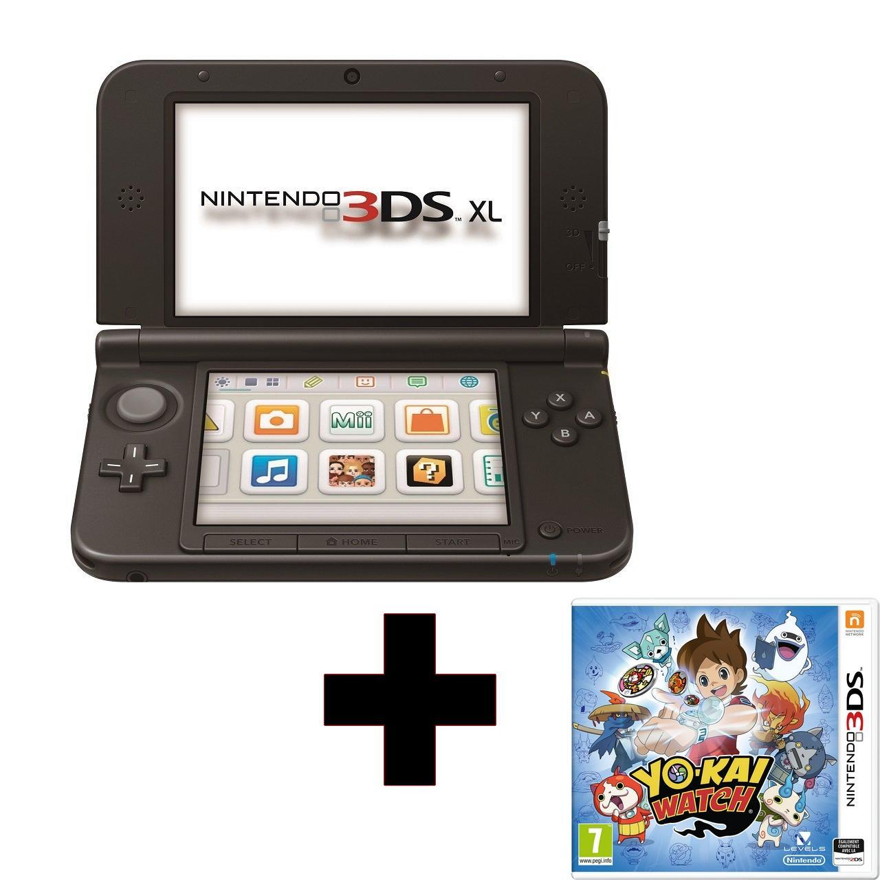 Pack console Nintendo New 3DS XL + Yo-kai Watch (via 33€ sur la carte de fidélité)