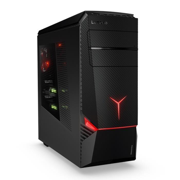 PC de bureau Lenovo Ideacentre Y900-34 - i7-6700K - 16Go de ram - GeForce GTX 980 4Go - Noir