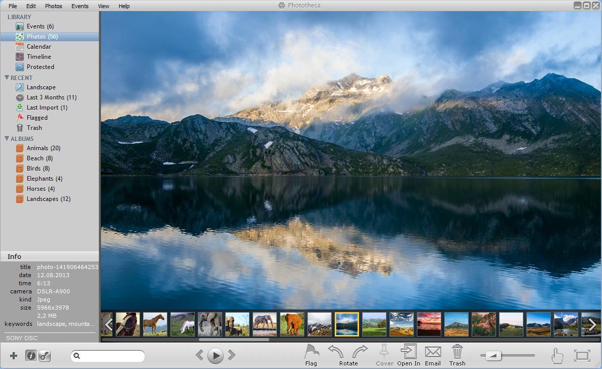 Logiciel Phototheca gratuit sur PC (Licence à vie)