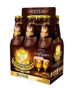 2 packs de 6 bières blondes 33cl Grimbergen (via BDR et bon d'achat)