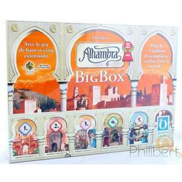 50% de réduction sur une sélection de jeux Queen Games - Ex : Alhambra - La Big Box