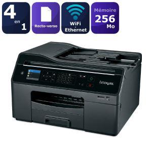 Imprimante Multifonction Lexmark OfficeEdge Pro4000 (Scanner + Fax) réseau Wifi / Ethernet