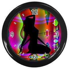Horloge murale personnalisable port inclus