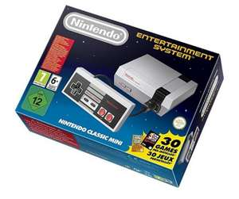 Précommande : Console Nintendo NES mini