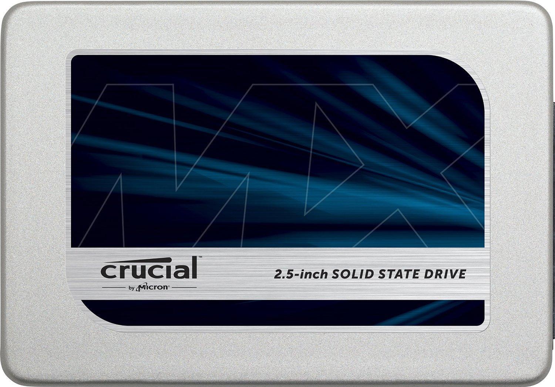 """SSD interne 2.5"""" Crucial MX300 (TLC 3D) - 525 Go"""