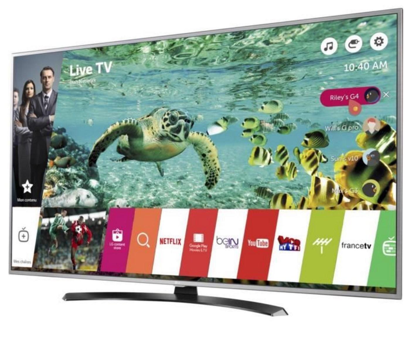 "TV 49"" LG 49UH668V - UHD 4K, HDR, Smart TV"