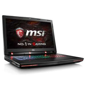 "PC Portable 17.3"" MSI GT72VR 6RE-011FR Dominator Pro Tobii - Intel i7-6700HQ, 16 Go de Ram, 1 To + 256 Go SSD, GeForce GTX 1070 8 Go + Crédit Paragon"