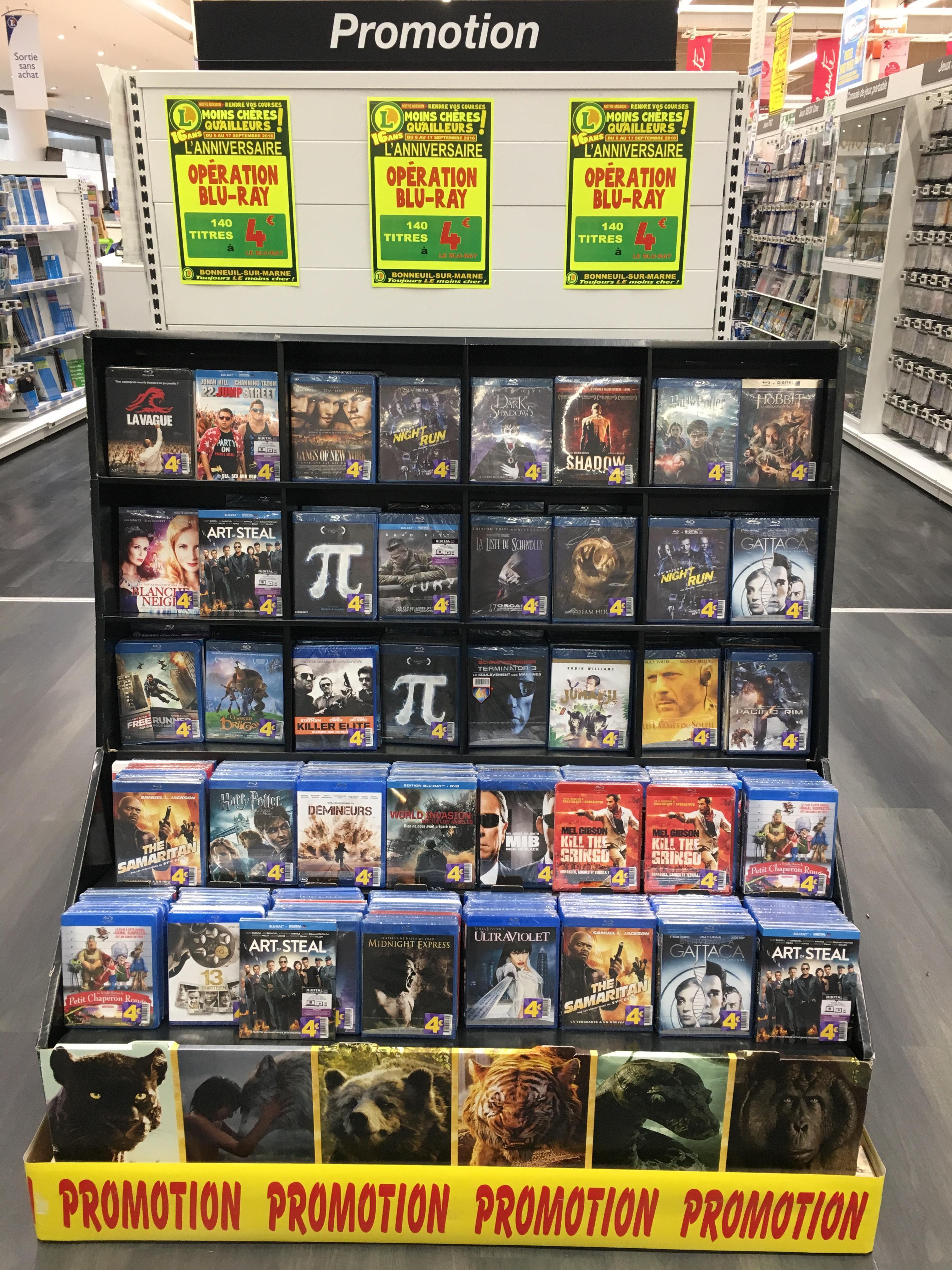 Sélection de Blu-ray