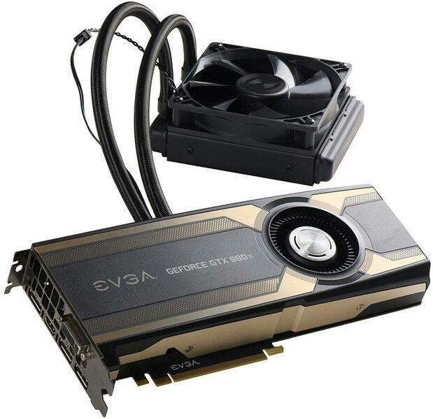 Carte graphique EVGA Nvidia GeForce GTX 980 Ti Hybrid + Crédits de jeu Paragon