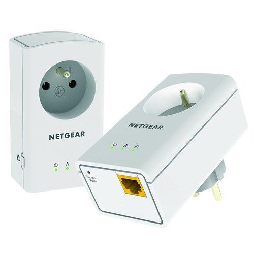 25% de réduction sur 3 références de CPL Netgear - Ex : Pack de 2 adaptateurs CPL 500 MBps Netgear XAVB5421-100FRS