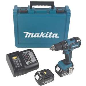 perceuse visseuse percussion makita 18v brushless dhp459. Black Bedroom Furniture Sets. Home Design Ideas