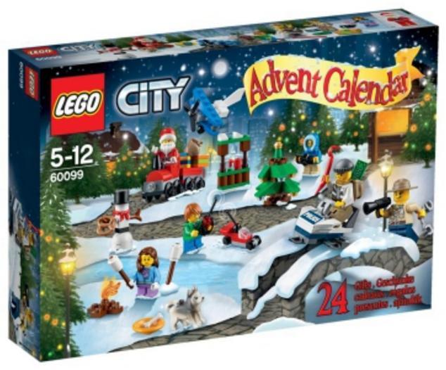 Calendrier de l'avant 2015 Lego City n°60099