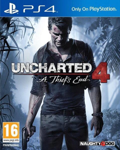 Jeu Uncharted 4: A Thief's End sur PS4