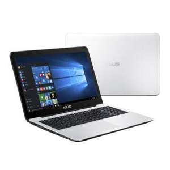 "PC Portable 15"" HD Asus X555YI-XX054T - Blanc (E1-7010, 4 Go Ram, 1 To HDD, Windows 10)  + Sacoche + Souris"