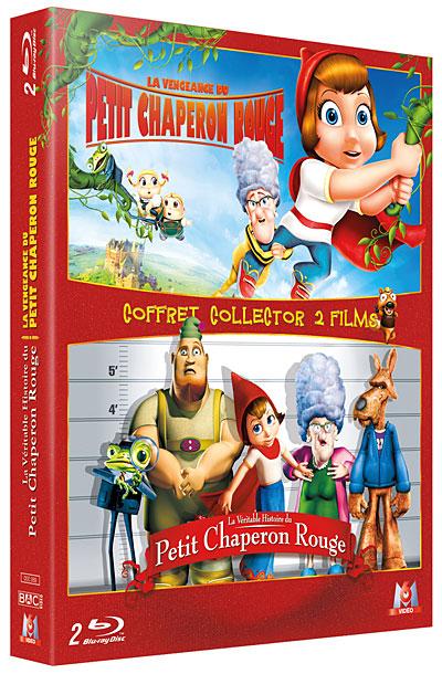 Coffret 2  Blu-Ray La Vengeance du Petit Chaperon Rouge - La Véritable histoire du Petit Chaperon Rouge -