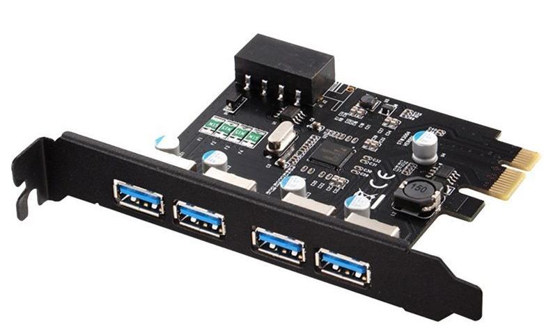 Carte PCI-e 4 Ports USB 3.0