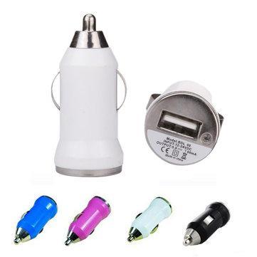 Mini chargeur allume cigare USB - Plusieurs coloris (via l'application mobile)