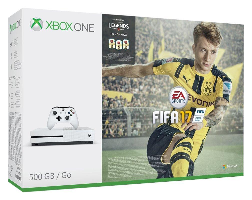 Pack console Microsoft Xbox One S 500 Go - Blanc + Fifa 17